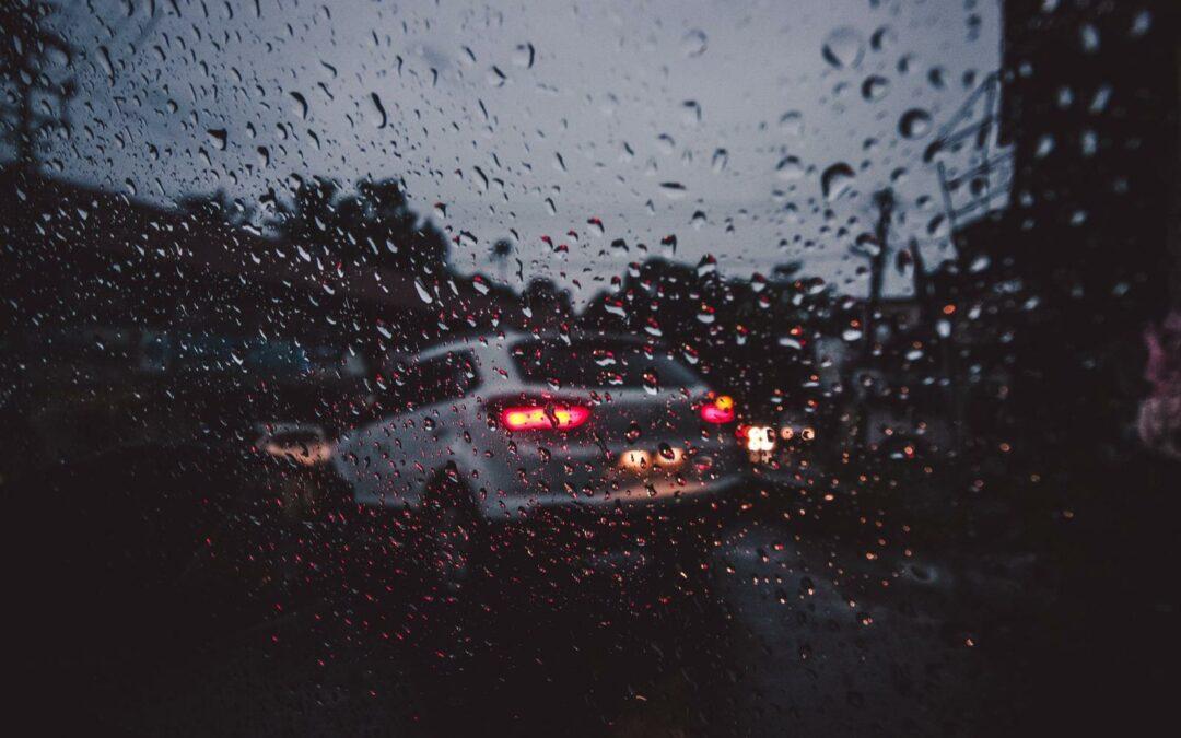 Accidentes de tráfico en días de lluvia