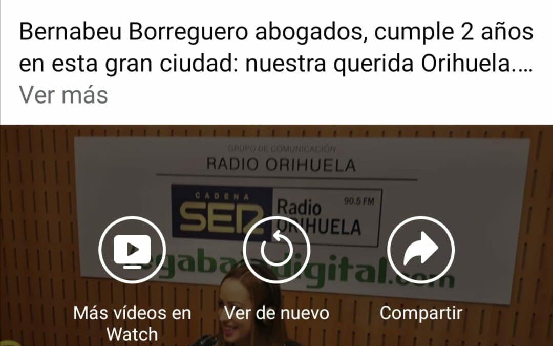2º Aniversario Bernabeu Borreguero abogados